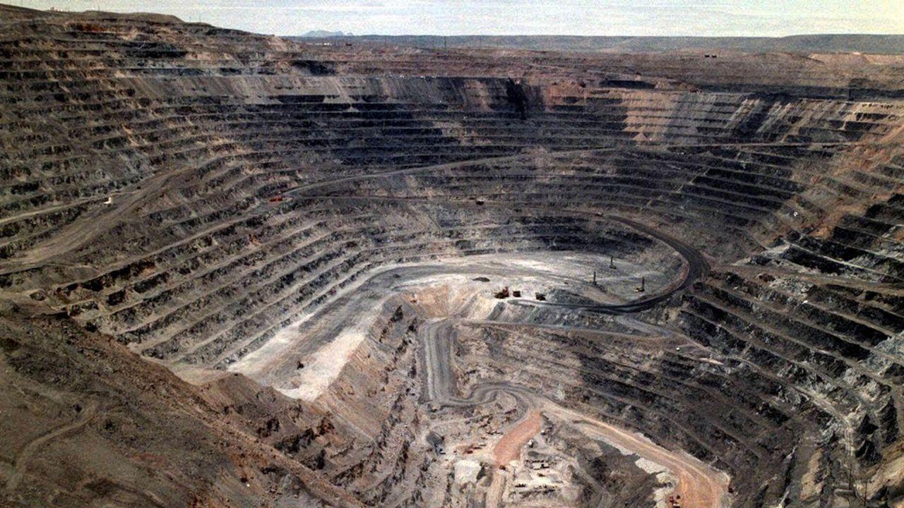 Une mine du géant Barrick Gold au Nevada.