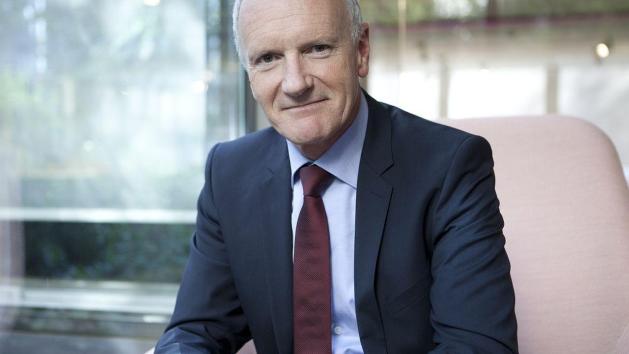 Christophe Cuvillier, président du directoire d'Unibail-Rodamco-Westfield
