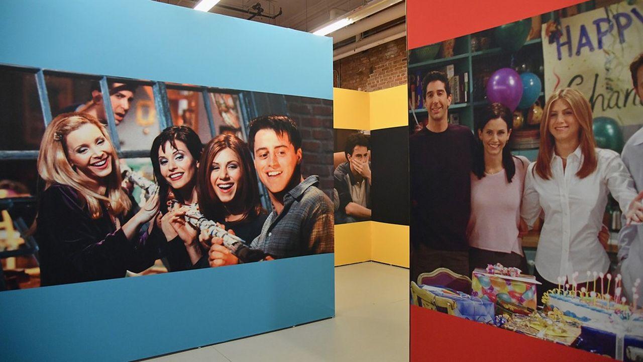 Un pop-up store a ouvert à New York début septembre avec reconstitution de l'appartement de la série «Friends». Prix du billet d'entrée: près de 30dollars.