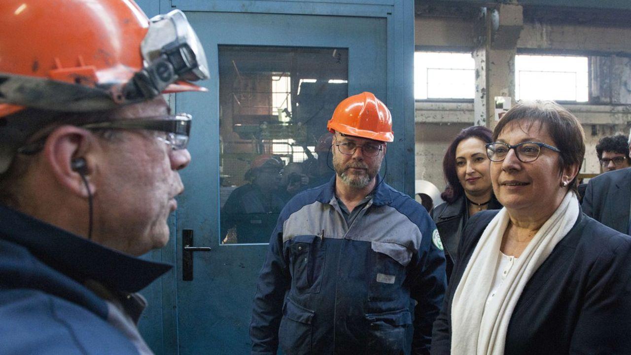 En février 2017, Martine Pinville, Secrétaire d'Etat chargée du Commerce, de l'Artisanat, de la Consommation et de l'Economie sociale et solidaire, avait rencontré les salariés de la Scop.