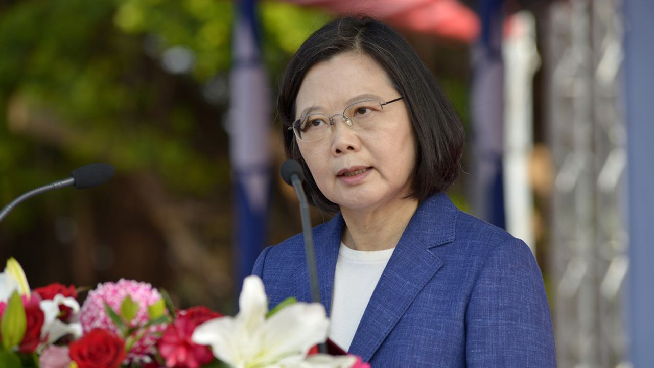 La présidente de Taïwan, Tsai Ing-wen.