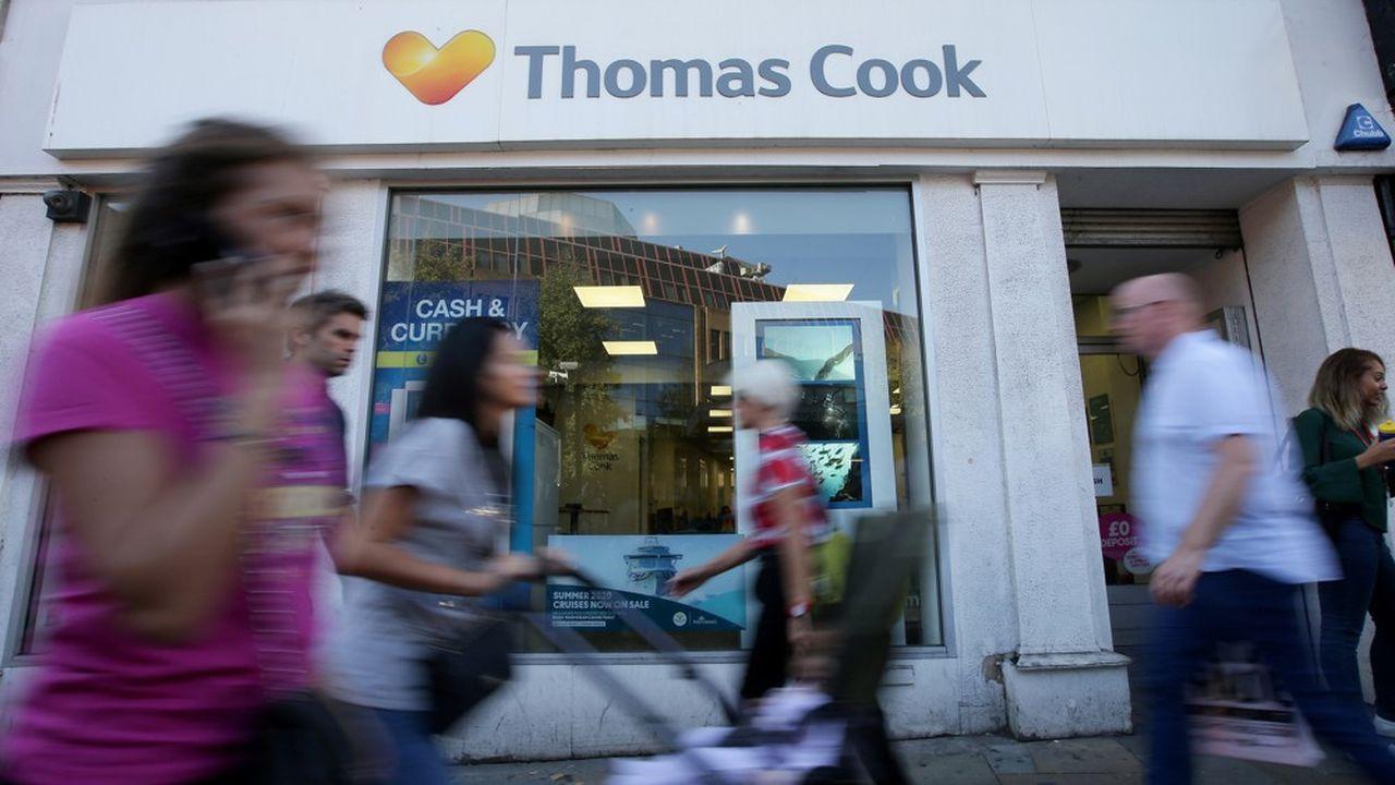 Thomas Cook mène des discussions serrées avec ses créanciers pour éviter la faillite.