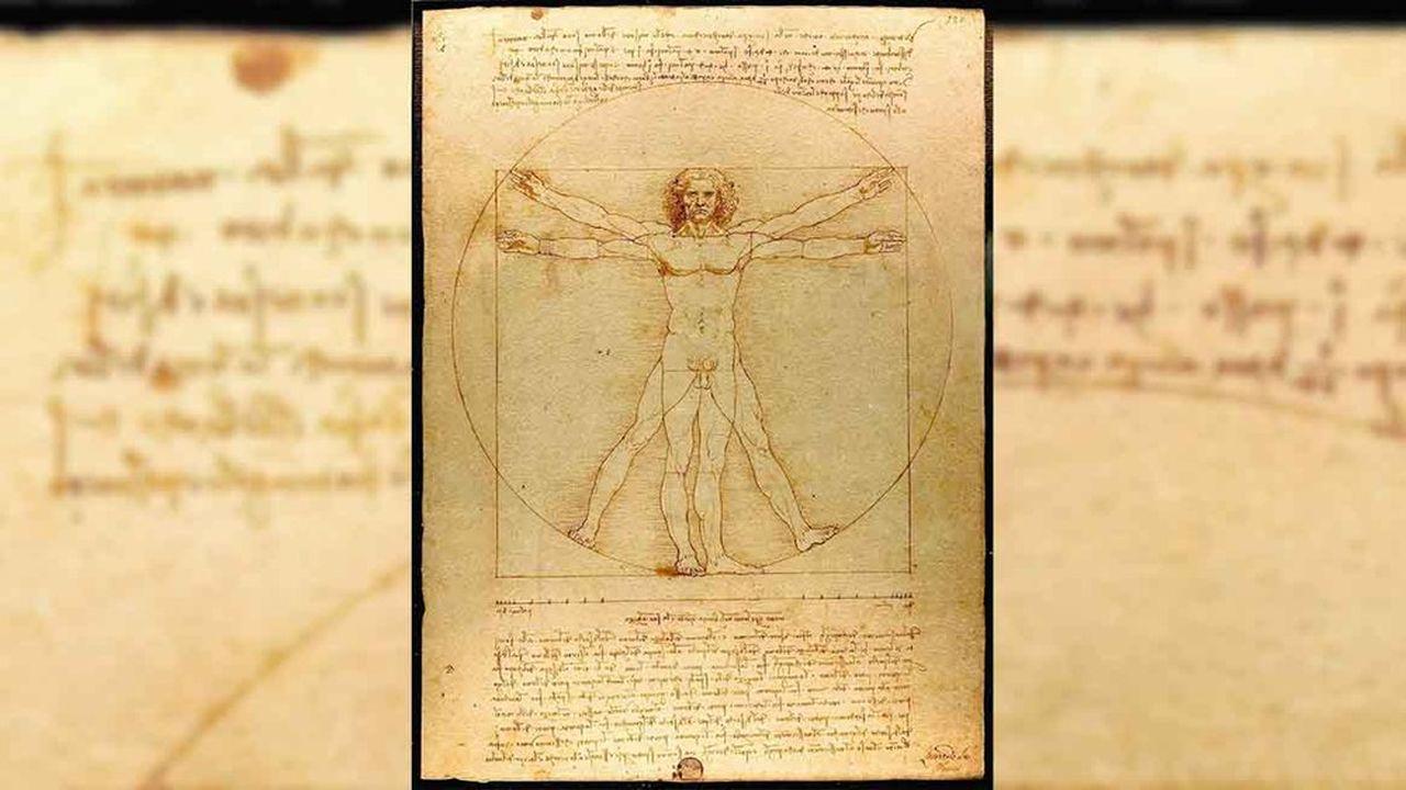 Le plus célèbre dessin de Léonard de Vinci rejoindra les autres chefs-d'oeuvre du Maestro exposés au Louvre du 24octobre 2019 au 24février 2020 pour célébrer les 500 ans de sa disparition