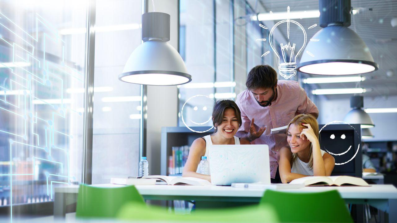 Digital_Utile_LesEchos_Campus intelligent, ou comment l'université de digitalise_CREDIT Shutterstock.jpg