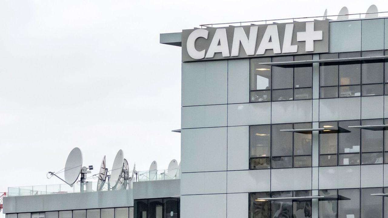 Le siège de la chaîne Canal +, à Boulogne-Billancourt (Hauts-de-Seine).