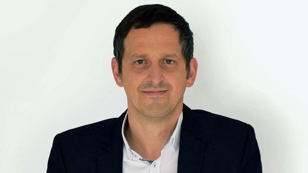 Romulus Grigoras, PDG de OneStock, qui est entré en septembre à la Maison des start-up LVMH, au sein de Station F à Paris.