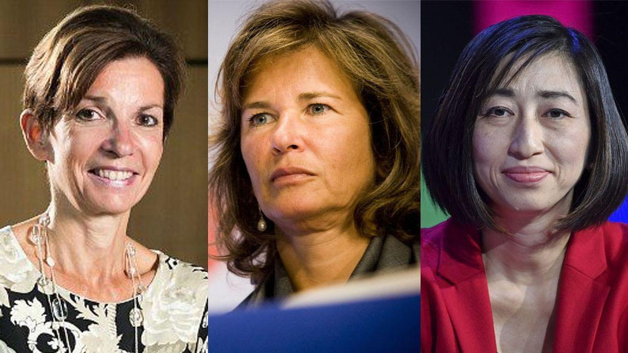 Rajna Gibson, Iris Knobloch et Xiaoqun Clever sont entrées respectivement au conseil de BNP Paribas, de LVMH et de Capgemini.