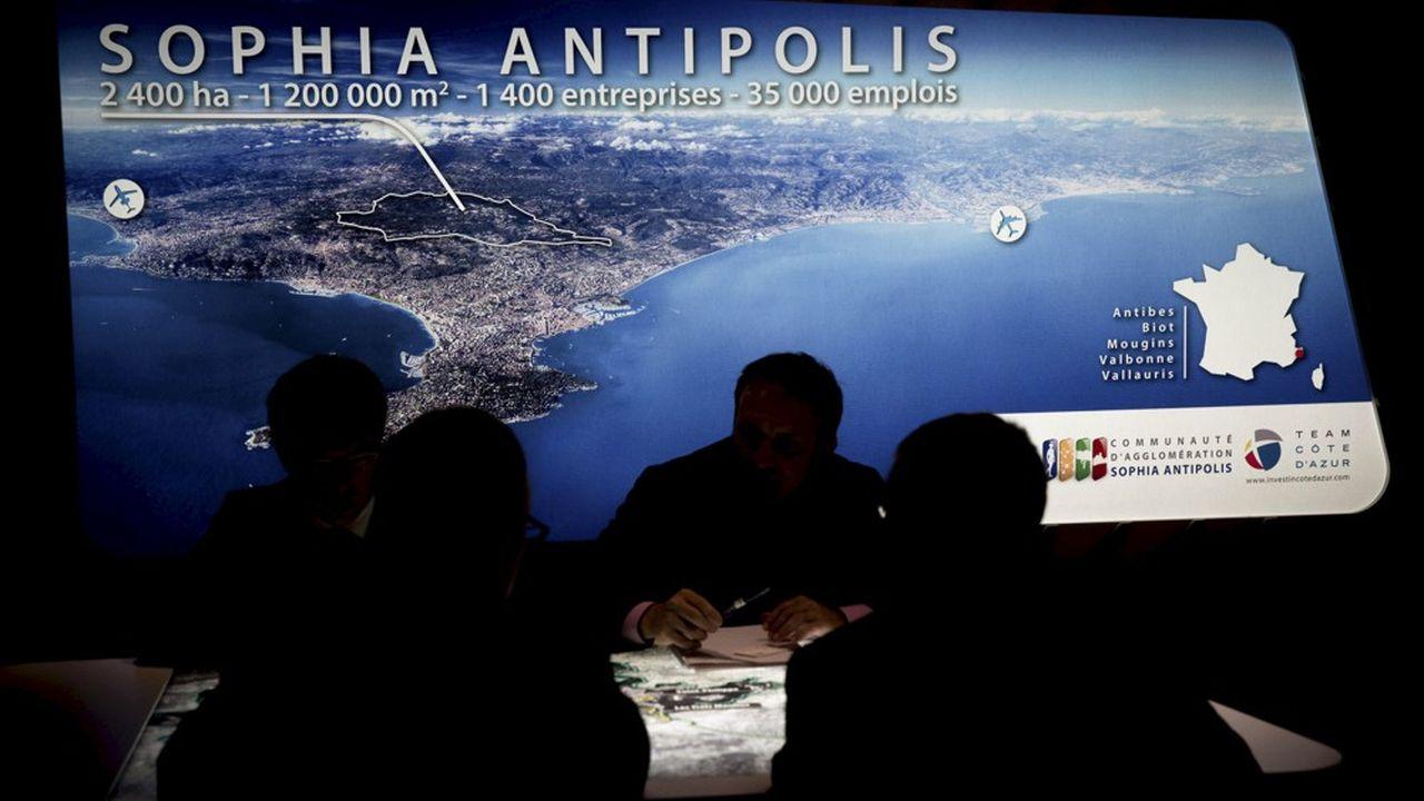 Le parc d'activité de Sophia Antipolisa 50 ans. Il a créé 36.300 emplois, abrite 2.230 établissements et un chiffre d'affaires de 5,6 milliards d'euros.