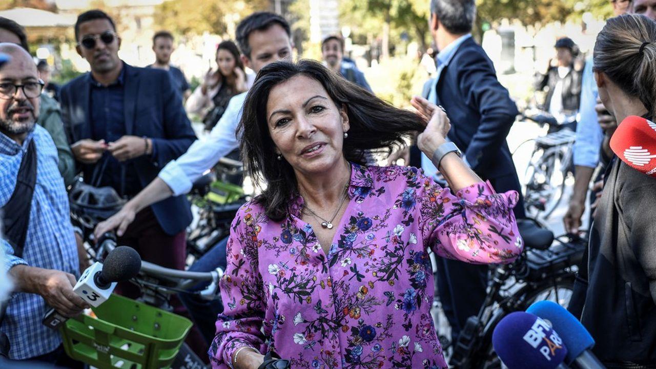 Les divisions au sein de LREM sont une aubaine pour l'actuelle maire de Paris