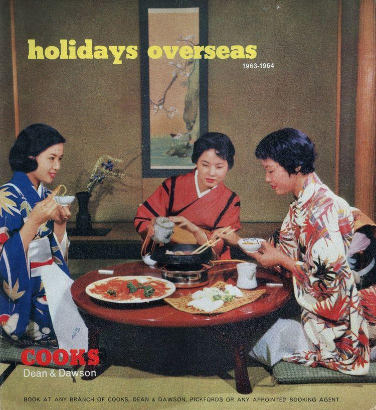 Brochure de voyage Thomas Cook de 1963.