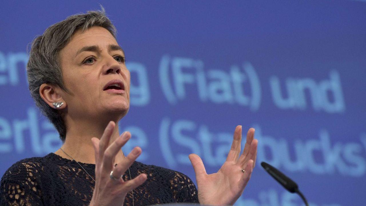 La Commissaire européenne en charge de la Concurrence, Margrethe Vestager, a porté politiquement le combat de Bruxelles contre les cadeaux fiscaux considérés comme des aides d'Etat déguisées.