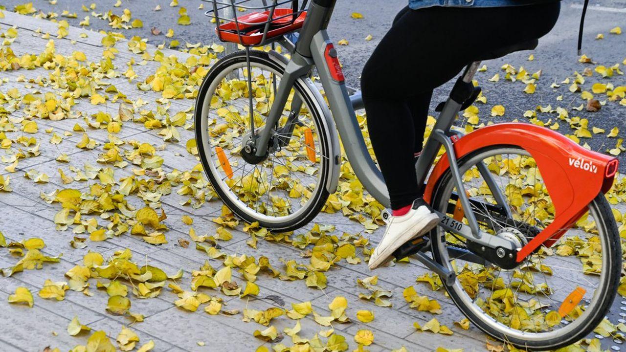 Location de bicyclettes en libre service Velov à Lyon