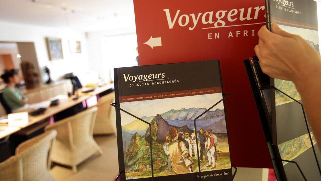 Voyageurs du monde a ses propres agences.