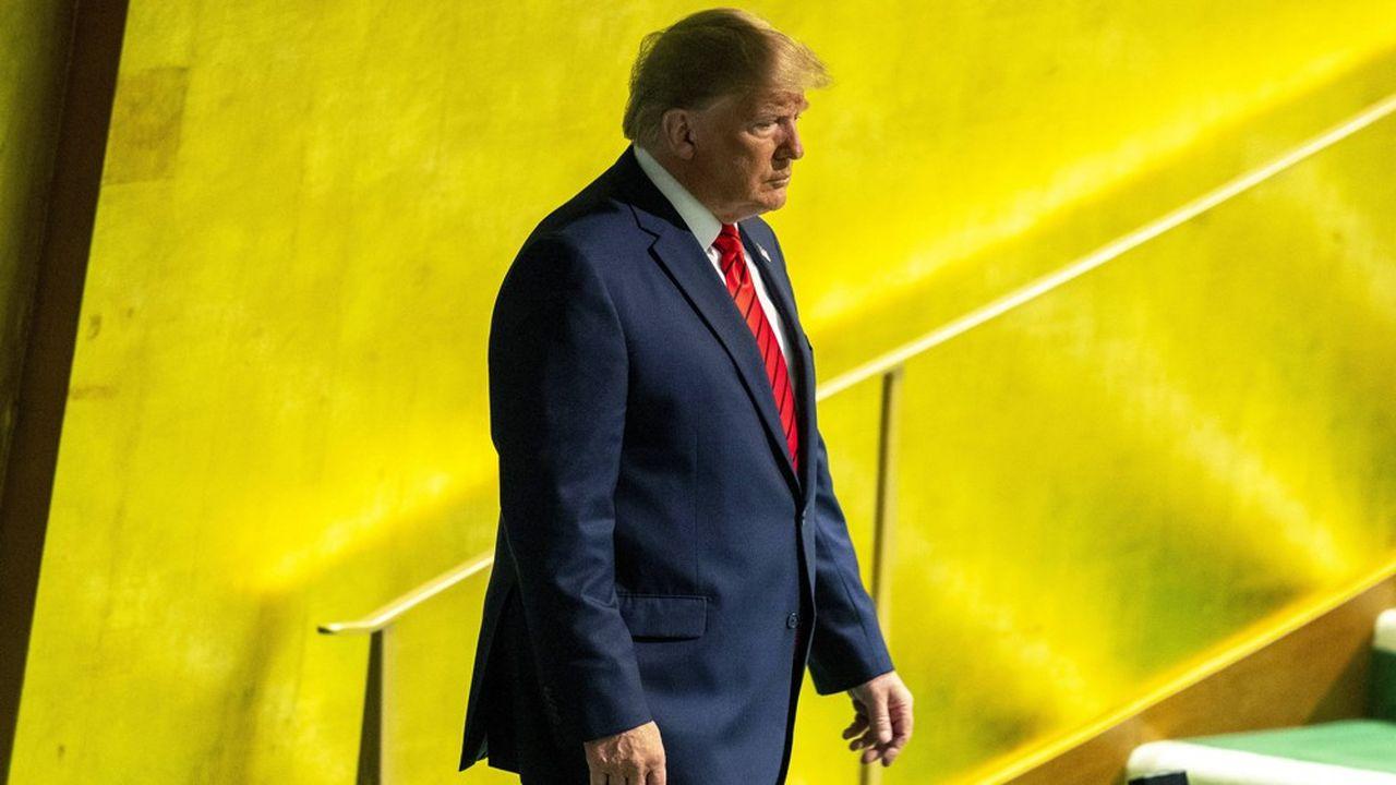 Donald Trump, mardi 24septembre, à la 74e session de l'Assemblée générale de l'ONU.