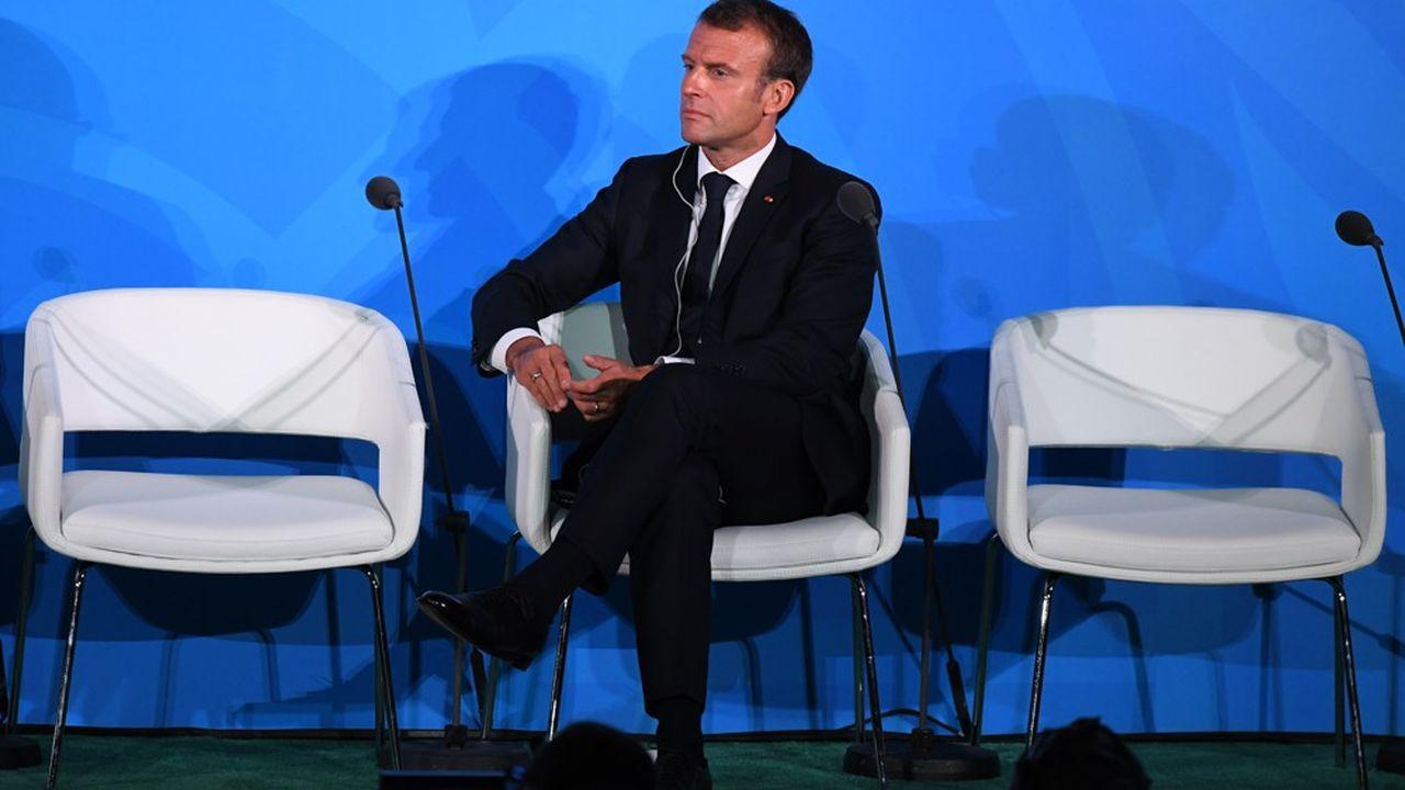 Emmanuel Macron a repris, à la tribune de l'ONU, ses engagements en faveur de l'environnement.