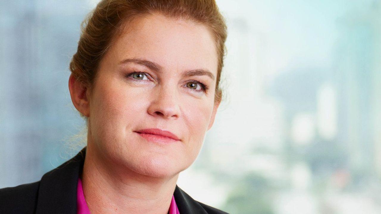 Sandrine Ferdane, CEO de BNP Paribas au Brésil.