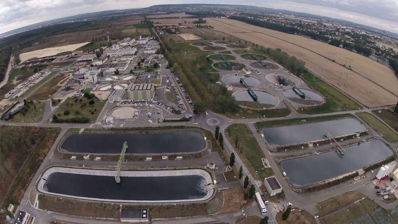 Première station d'épuration d'Europe, le site d'Achères, géré par le Siaap, est un colosse.