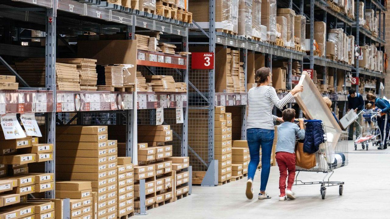 Ikea, qui dispose d'un maillage de 433 magasins dans le monde, s'implante en ce moment en Amérique du sud. Le groupe a ouvert 12 nouveaux magasins sur la planète, dont deux petits - comme celui de La Madeleine à Paris inauguré en mai.