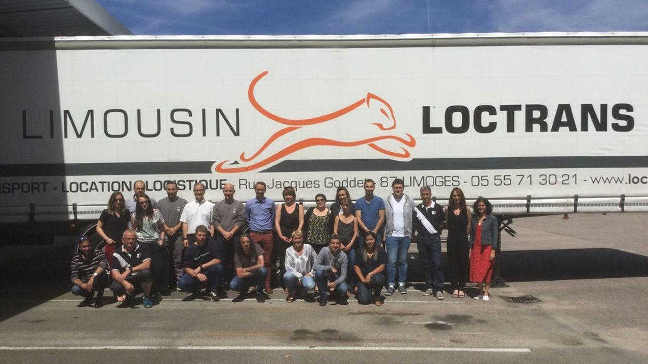 Outre le transport, Loctrans fait un peu de logistique, de distribution, de location de camions avec chauffeuret du traitement des cargaisons sous température dirigée.