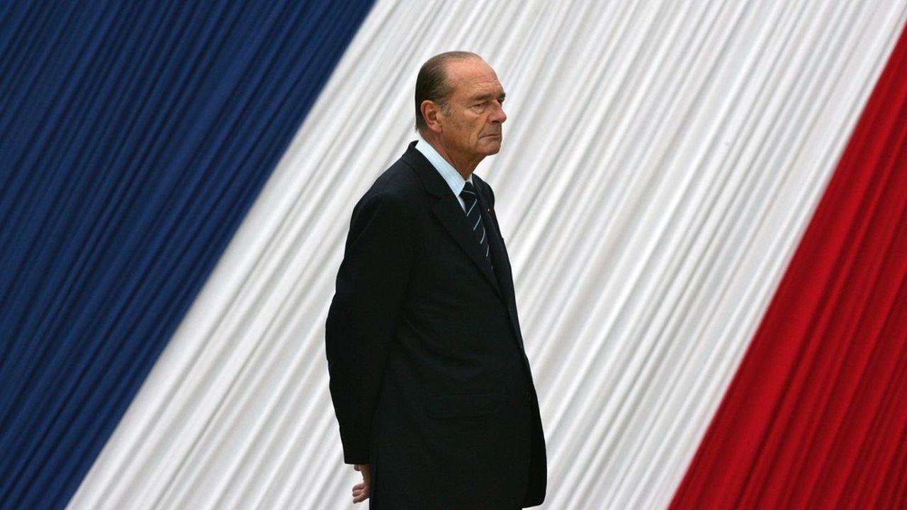 Jacques Chirac en mai2006.