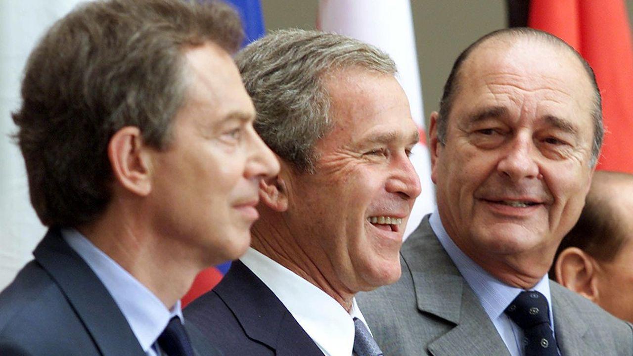 A l'étranger, le président français est rappelé comme l'homme qui à dit «non» à la coalition voulue par Georges Bush et Tony Blair lors de la Guerre en Irak.