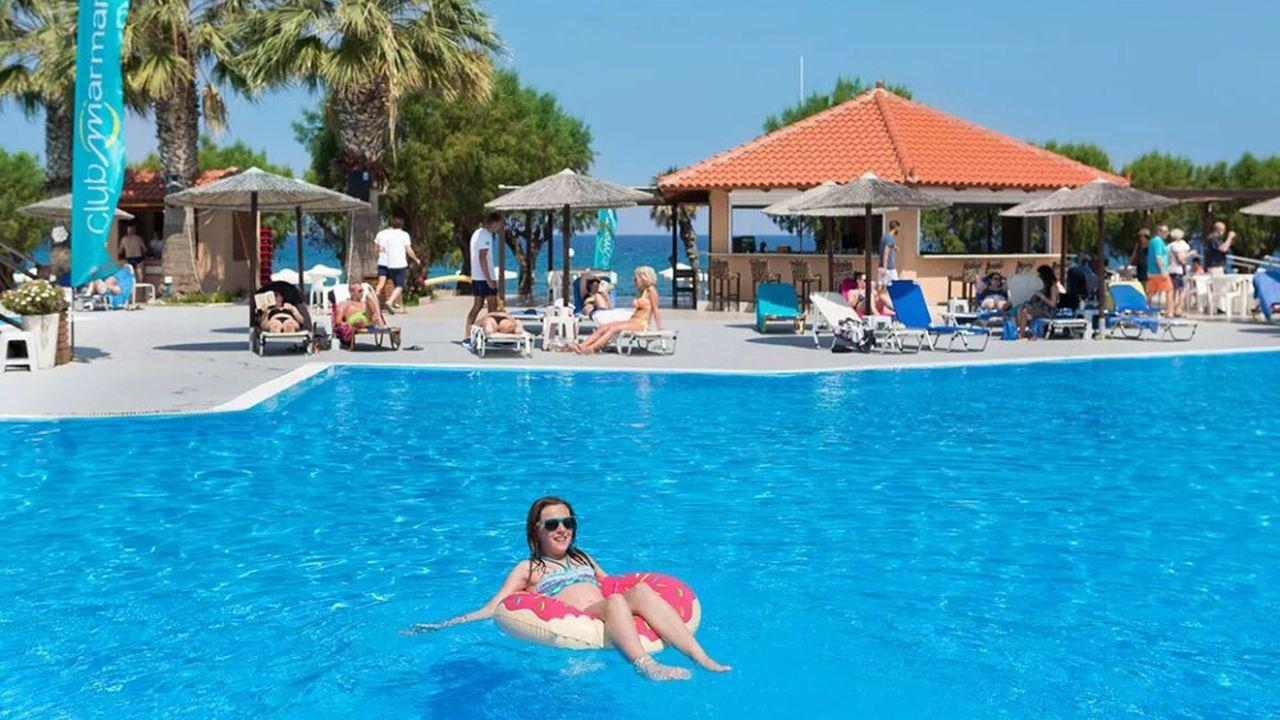 Pour les clubs de TUI, la Grèce est devenue la première destination d'été, détrônant l'Espagne. Ici le club Marmara de Rhodes.