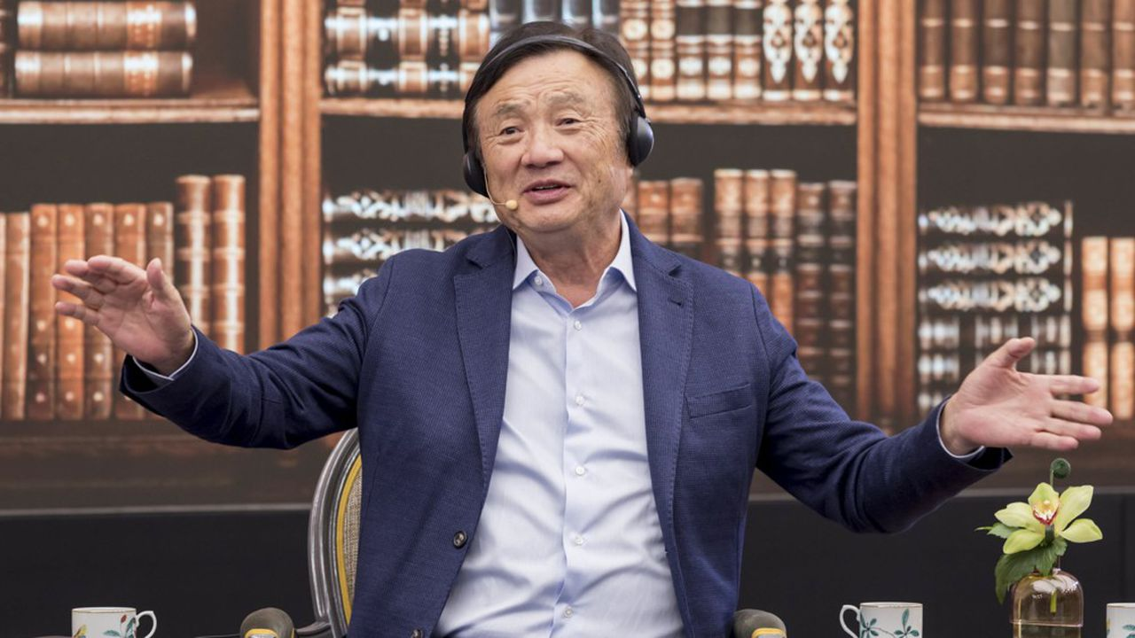 Ren Zhengfei, le fondateur de Huawei, se dit prêt à vendre sa technologie 5G à des groupes tiers.