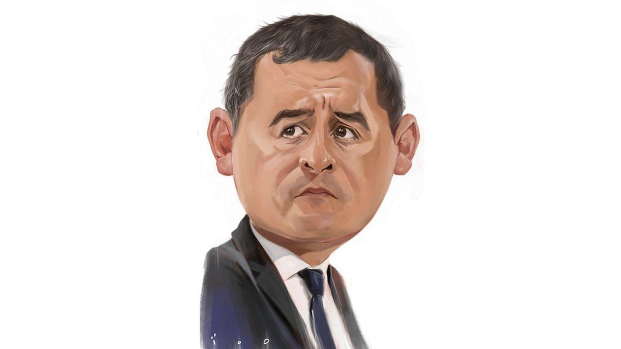 Caricature par ïoO, pour « Les Echos ».