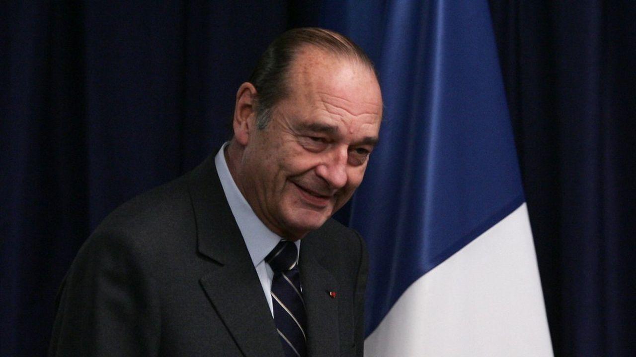 Jacques Chirac en 2005.