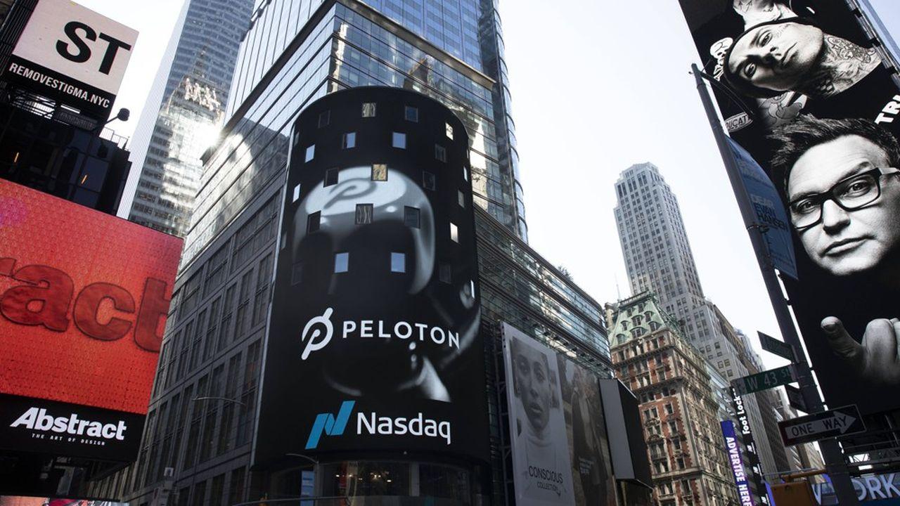 Le modèle de Peloton n'a pas convaincu les investisseurs.