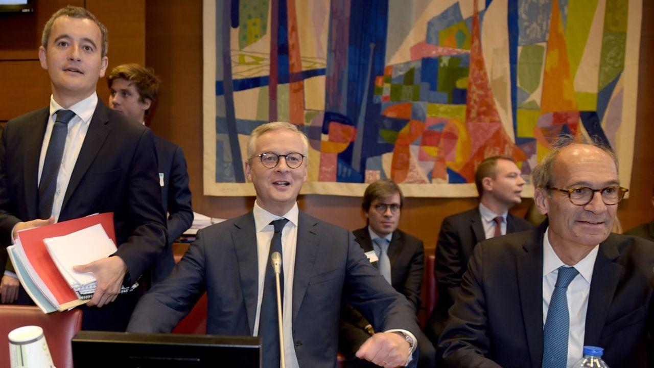 Bruno Le Maire et Gérald Darmanin, auditionnés devant la Commission des finances de l'Assemblée nationale présidée par Eric Woerth, ont défendu les choix budgétaires du gouvernement.