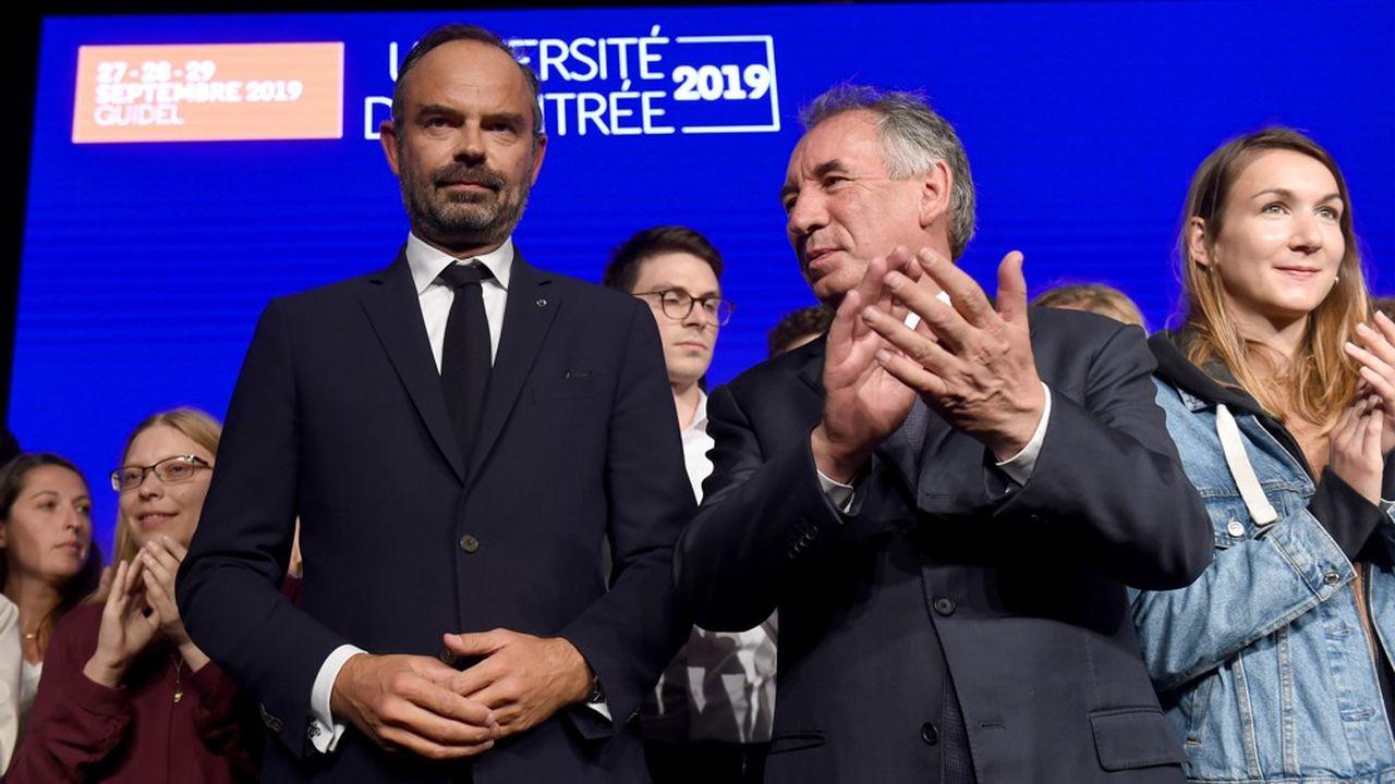 Le Premier ministre Edouard Philippe, pour la première fois présent dimanche à l'université de rentrée du Modem, a fustigé les discours «nauséabonds» tenus samedi lors de la convention de la droite de Marion Maréchal.