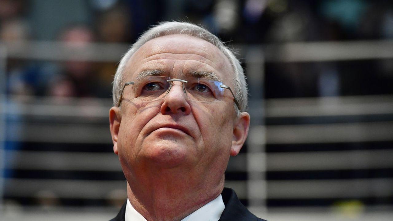 Martin Winterkorn, ancien PDG de Volkswagen, a été contraint de démissionner après le scandale du dieselgate