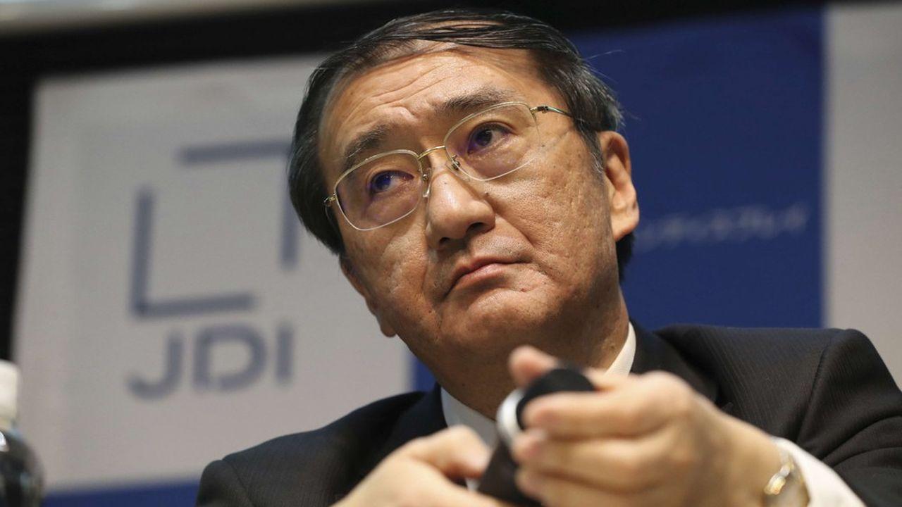 Yoshiyuki Tsukizaki a démissionné de son poste de patron de Japan Display après l'échec du plan de sauvetage qui devait renflouer le fabricant d'écrans.