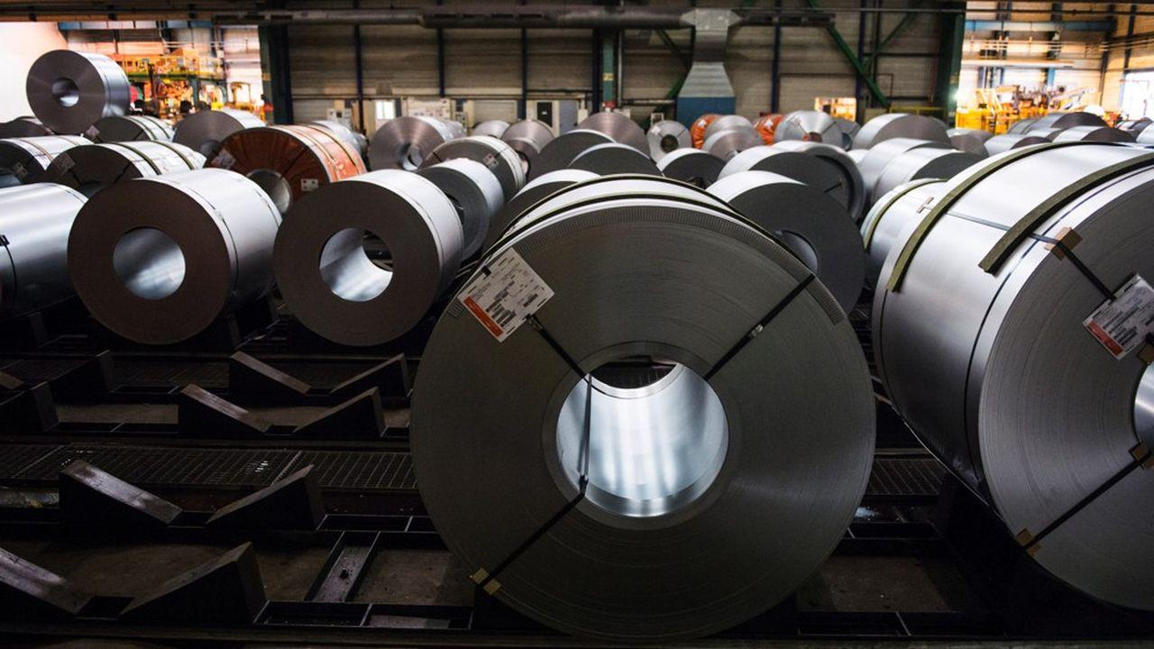 L'acier pour automobile galvanise ArcelorMittal Florange