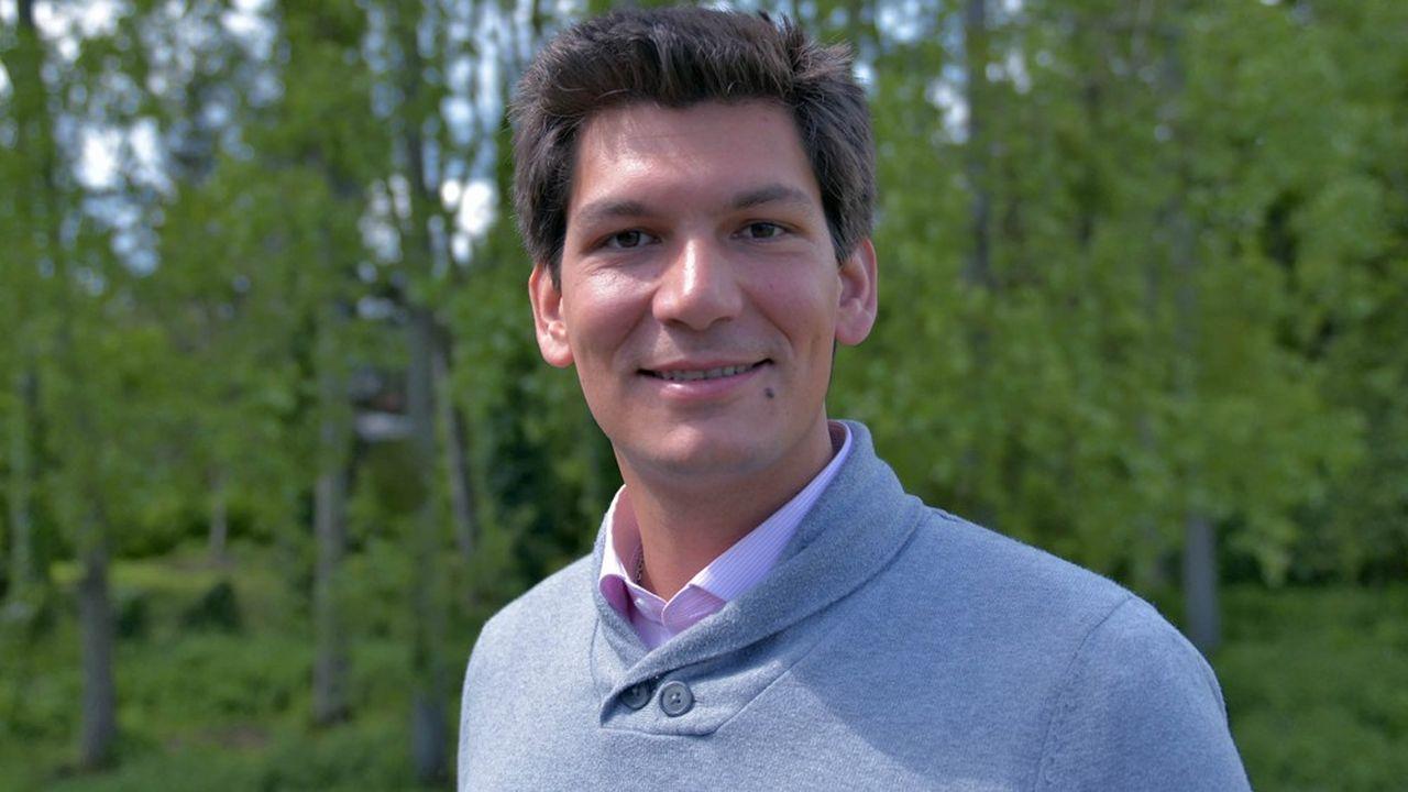 Erwan Le Méné, président de l'entreprise brestoise EcoTree.