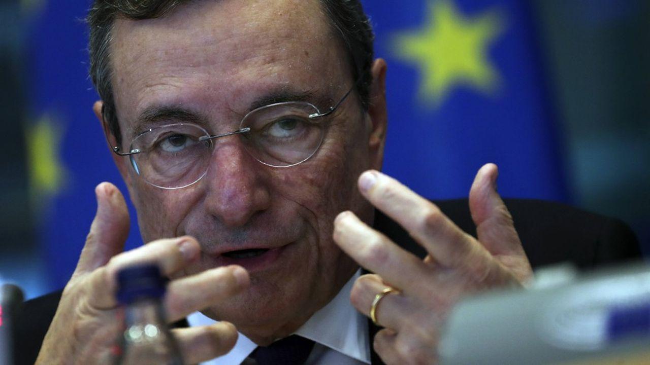 Mario Draghi, président de la BCE, a annoncé le 12septembre la mise en place d'un système de «tiering» pour les banques.