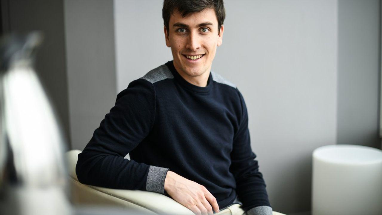 Matthieu Burin, président et cofondateur de TravauxLib qui devient Hemea.