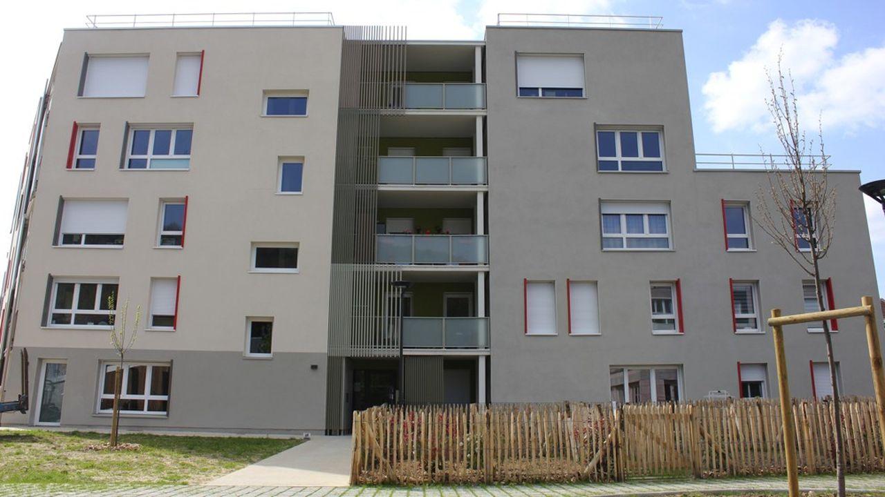 Résidence Alizari à Malaunay (Seine-Maritime).