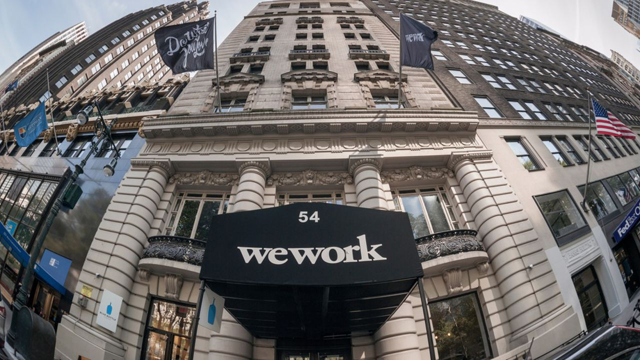 SoftBank Group est le premier actionnaire de WeWork.