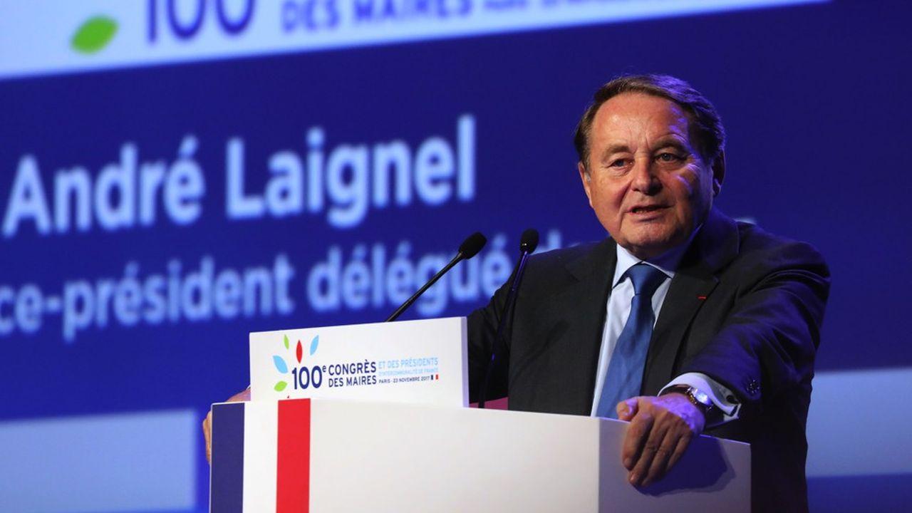 Andre Laignel, premier vice-président délégué de l'Association des maires de France.