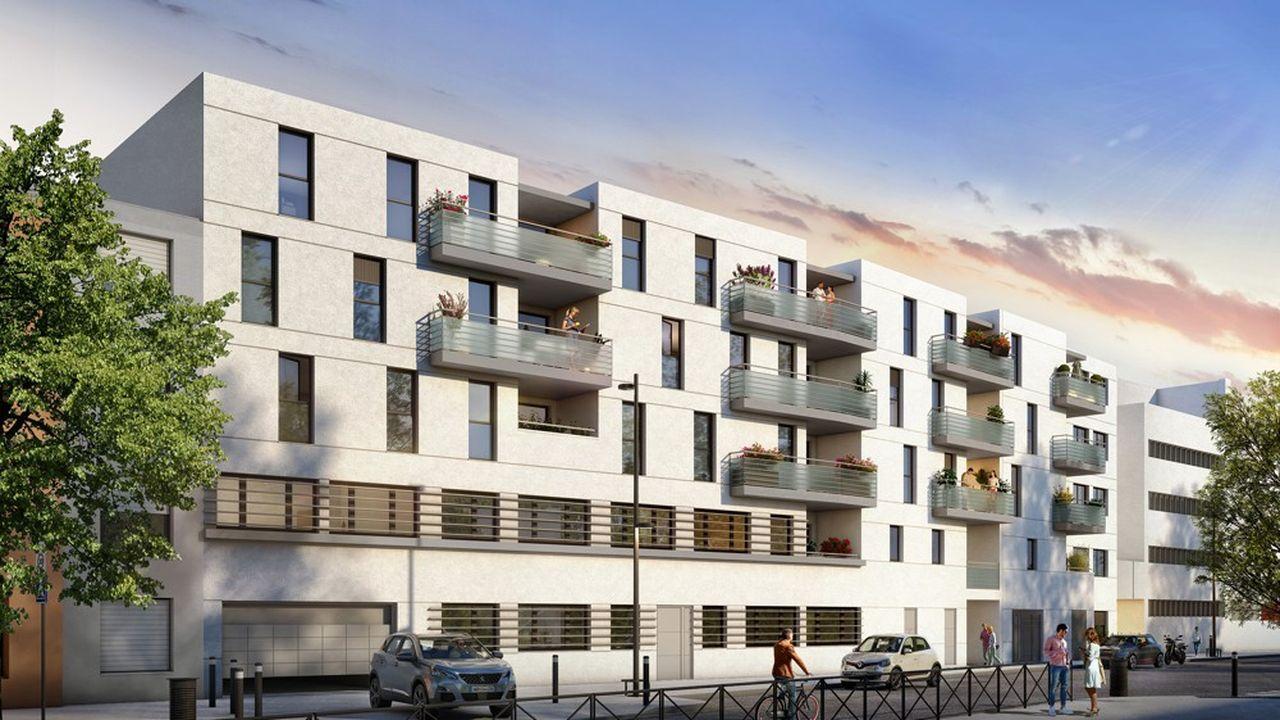 Les travaux de la résidence l'Eclat, un immeuble de 19 logements sur quatre étages, au coeur du très prisé quartier Saint-Michel, démarrent début novembre.