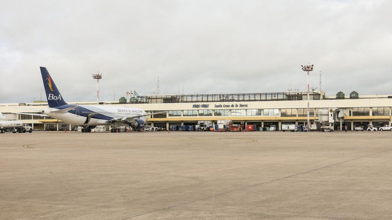 L'aéroport Viru Viru dessert la capitale économique de la Bolivie, Santa Cruz de la Sierra, qui pèse près de 30% du produit intérieur brut (PIB) du pays.