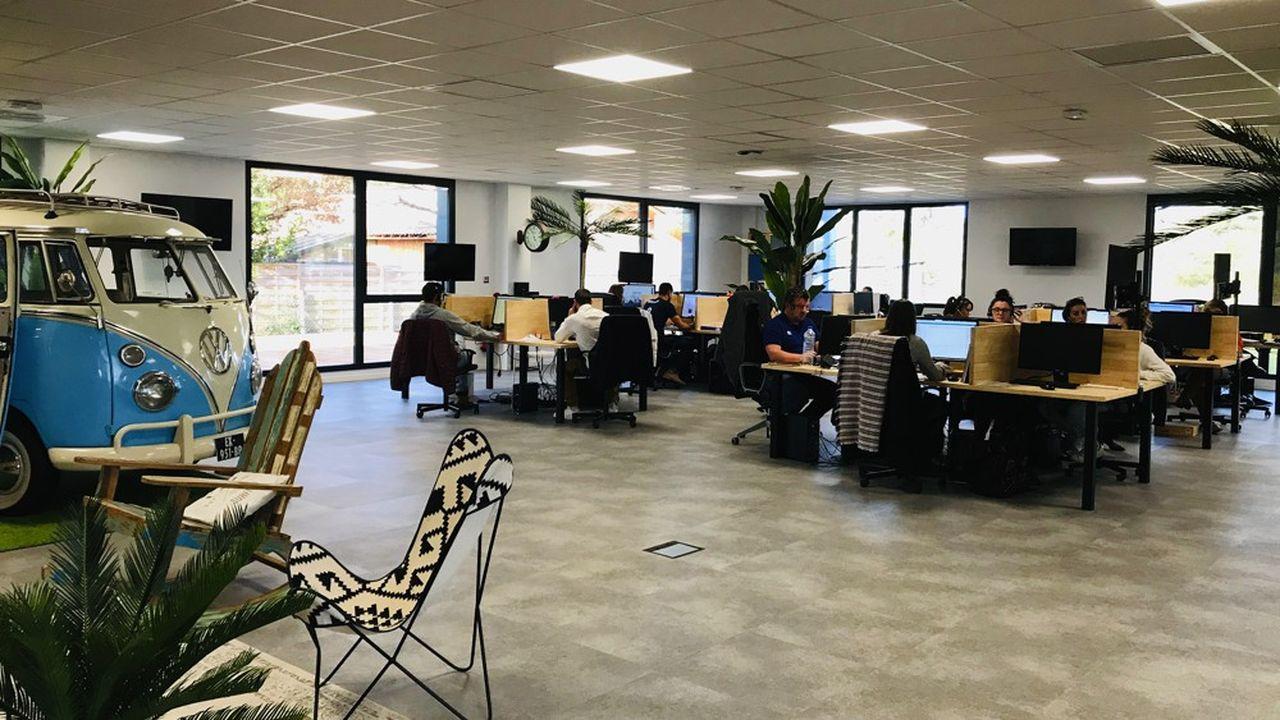 Les 48salariés d'Opinion System travaillent dans un environnement résolument start-up.