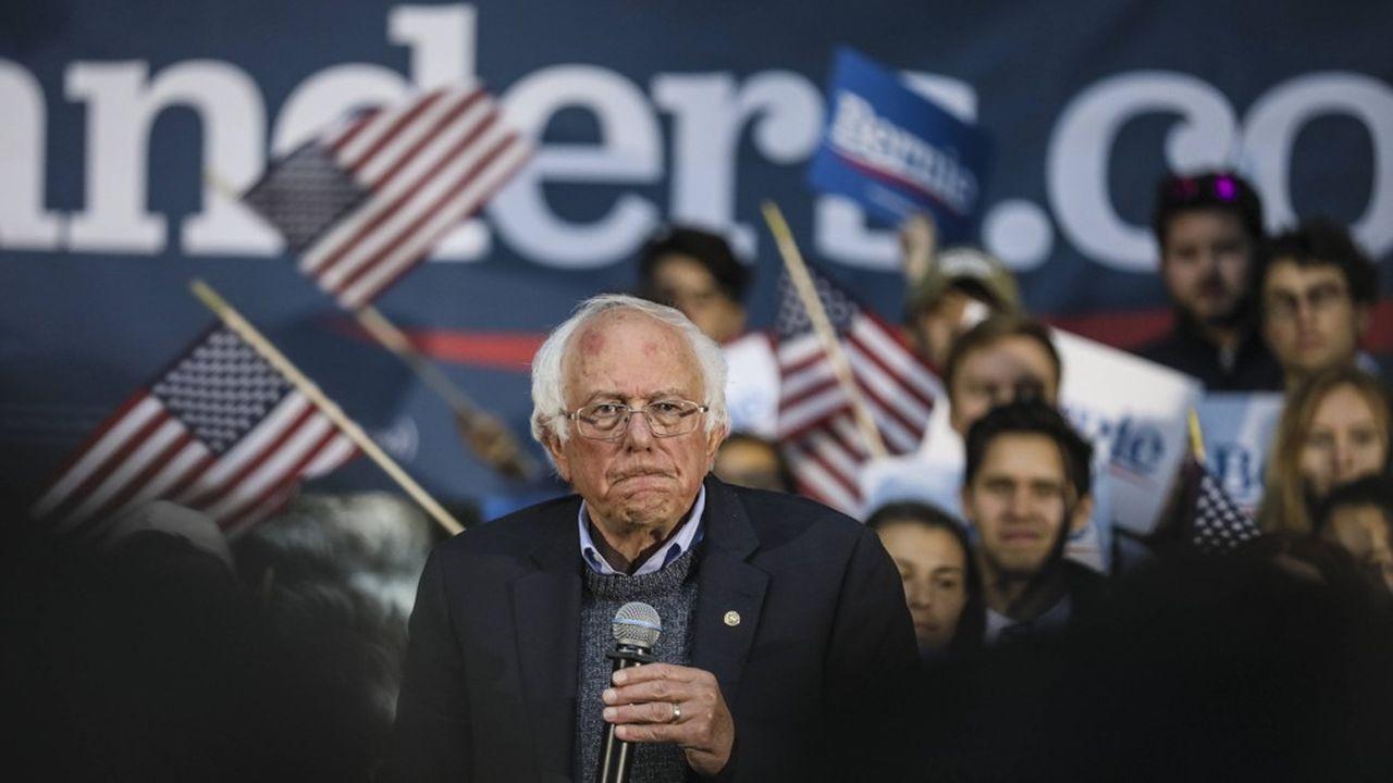 Les sondages plaçaient jusqu'ici Bernie Sanders en troisième position dans les sondages, côté démocrate