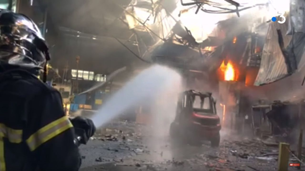 L'incendie qui a ravagé 1.000 mètres carrés d'installations stratégiques, sans blessés et ni dégâts environnementaux notables.