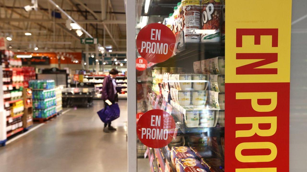 Le poids des ventes en promotion est passé sous la barre des 20% des ventes.