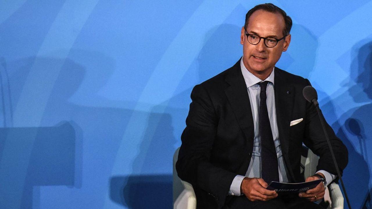 Oliver Bäte, patron d'Allianz estime que la BCE a multiplié les risques.