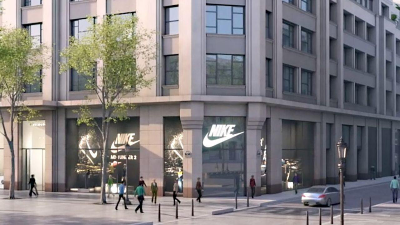 undefeated x super cute buy Nike fait flamber l'immobilier des Champs-Elysées | Les Echos