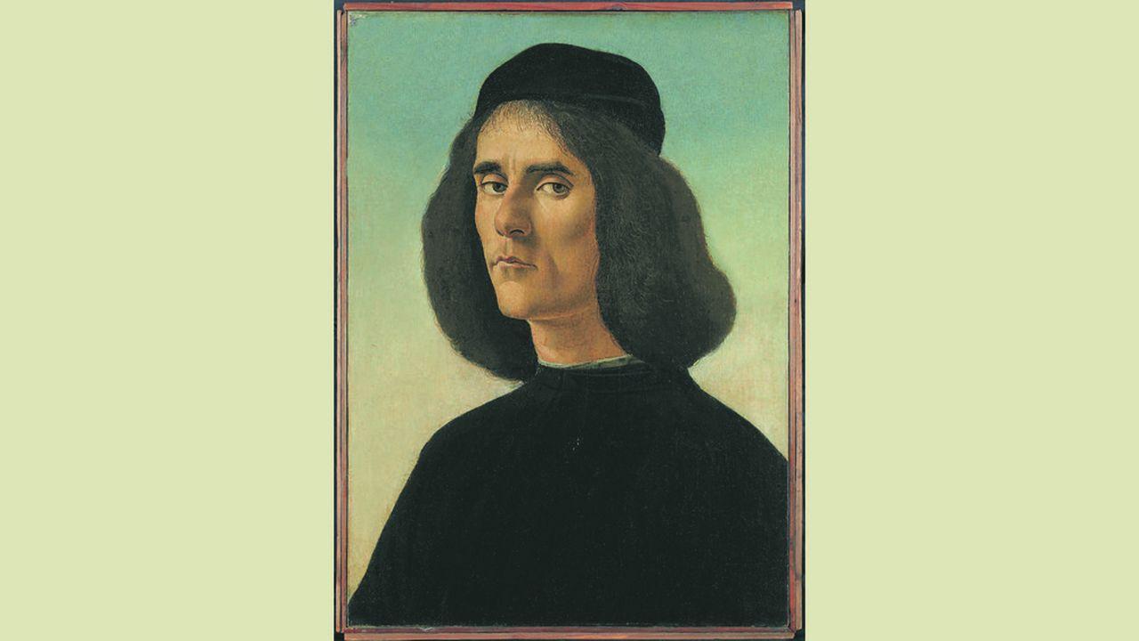 Le portrait de Michele Marullo Tarchaniota par Sandro Botticelli est à vendre sur le stand de Trinity Fine Art à Frieze Masters pour 30millions de dollars.